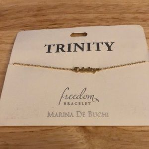 Trinity Name Bracelet